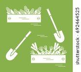 cute vector illustration of... | Shutterstock .eps vector #692464525