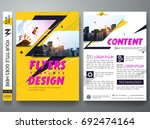 portfolio design template...   Shutterstock .eps vector #692474164