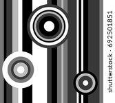 seamless abstract vector... | Shutterstock .eps vector #692501851