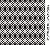 rhombuses seamless pattern.... | Shutterstock .eps vector #692509081