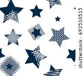 stars seamless pattern.... | Shutterstock .eps vector #692510515