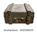 French Military Wooden Box