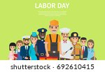 labor day bright promotion... | Shutterstock .eps vector #692610415