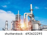 industrial zone the equipment... | Shutterstock . vector #692622295
