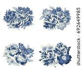 flower set | Shutterstock . vector #692649985