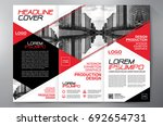 business brochure. flyer design.... | Shutterstock .eps vector #692654731