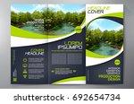 business brochure. flyer design.... | Shutterstock .eps vector #692654734