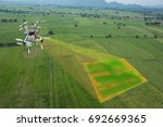 drone for agriculture  smart... | Shutterstock . vector #692669365