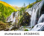 scenic view of the pearl shoals ...   Shutterstock . vector #692684431