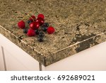 counter  kitchen granite with... | Shutterstock . vector #692689021