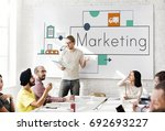 graphic of business service... | Shutterstock . vector #692693227