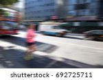 city life  lifestyle background | Shutterstock . vector #692725711