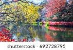 the beautiful karuizawa during... | Shutterstock . vector #692728795