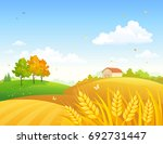 vector cartoon drawing of an... | Shutterstock .eps vector #692731447