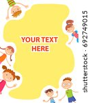 colorful template for... | Shutterstock .eps vector #692749015
