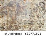 grunge and rusty concrete... | Shutterstock . vector #692771521
