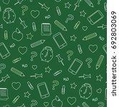 vector school background on... | Shutterstock .eps vector #692803069
