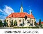Cluj, Romania. Medieval St. Michael