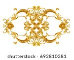decorative horizontal element 4    Shutterstock . vector #692810281