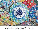 Colorful Mosaic - stock photo