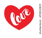 hand drawn typography...   Shutterstock . vector #692812825
