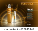 sun protection realistic... | Shutterstock .eps vector #692815147