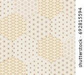 japanese seamless pattern... | Shutterstock .eps vector #692815594