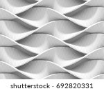 abstract curved lines... | Shutterstock . vector #692820331