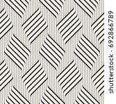 vector seamless pattern.... | Shutterstock .eps vector #692866789