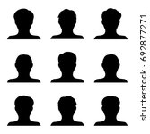 vector set of people icons... | Shutterstock .eps vector #692877271
