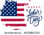 happy labor day holiday banner... | Shutterstock .eps vector #692886154