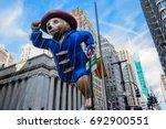 26 november 2015  new york city ... | Shutterstock . vector #692900551