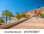 menton  france   Shutterstock . vector #692903887