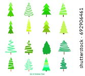 geometric art. green christmas... | Shutterstock . vector #692906461