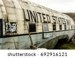 Small photo of Old American plane