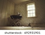 haunting image of an old... | Shutterstock . vector #692931901