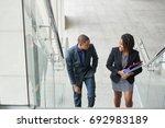 african american business... | Shutterstock . vector #692983189