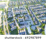 aerial view of residential... | Shutterstock . vector #692987899