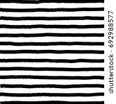 hand drawn horizontal stripes... | Shutterstock .eps vector #692988577