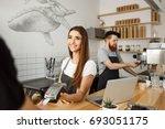 coffee business concept  ...   Shutterstock . vector #693051175