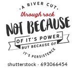 a river cuts through rock not... | Shutterstock .eps vector #693066454