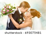 wedding. | Shutterstock . vector #693075481