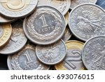 close up picture of polish... | Shutterstock . vector #693076015