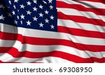 usa flag hi res collection | Shutterstock . vector #69308950