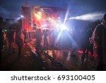 amsterdam  the netherlands  ... | Shutterstock . vector #693100405