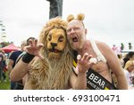 amsterdam  the netherlands  ... | Shutterstock . vector #693100471
