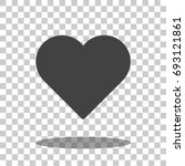 heart   heart icon   heart... | Shutterstock .eps vector #693121861