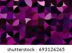 dark purple vector red pattern... | Shutterstock .eps vector #693126265