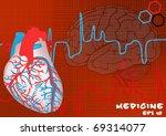 medicine background. eps10 | Shutterstock .eps vector #69314077
