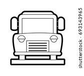 bus vector illustration | Shutterstock .eps vector #693143965